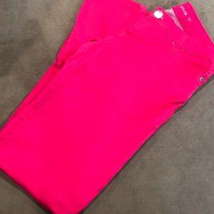 Macy's Celebrity Hot Pink Jeans